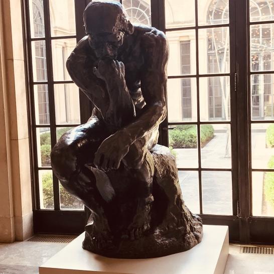 "Rodin's ""The Thinker,"" 1880"